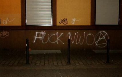 """Fuck the NWO\"""